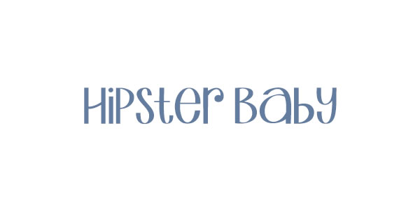 Logo Hipster Baby